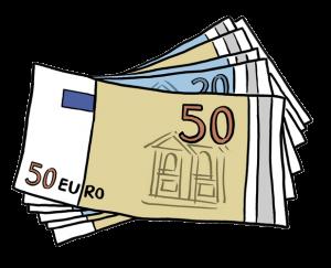 Bild: Mehrere Geldscheine