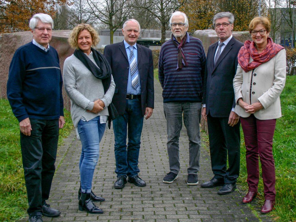 Foto von den Vorstandsmitgliedern des Vereins Lebenshilfe Detmold e. V.