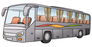 Bild von einem Reisebus